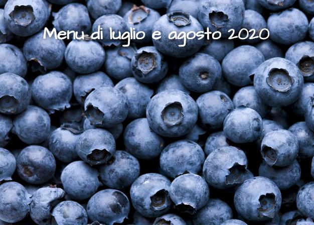 Il menu di luglio e agosto a Vignarello