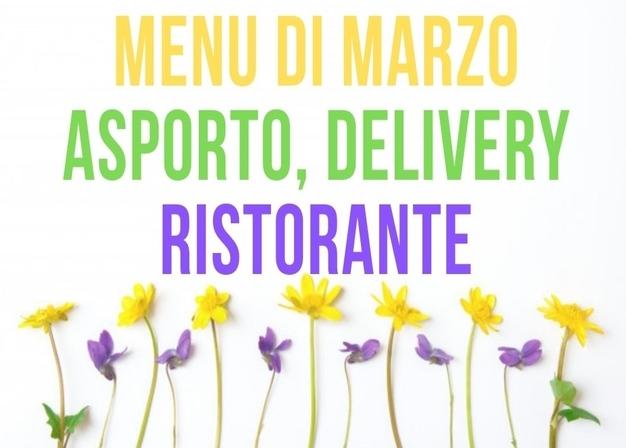 I menu di marzo 2021 all'Agriturismo Vignarello