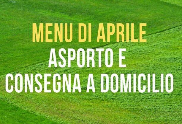 I menu di aprile dell Agriturismo Vignarello
