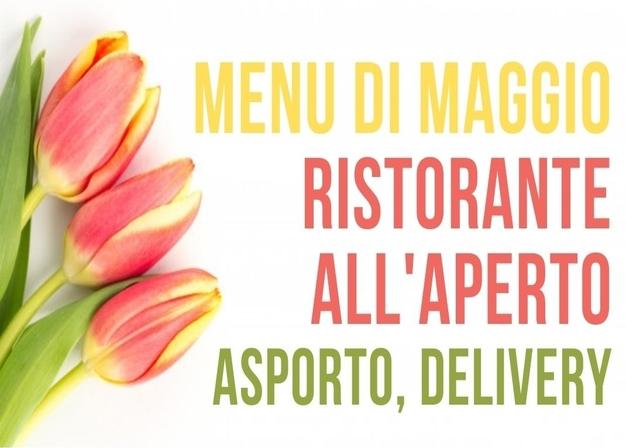 I menu di maggio all'aperto all'Agriturismo Vignarello