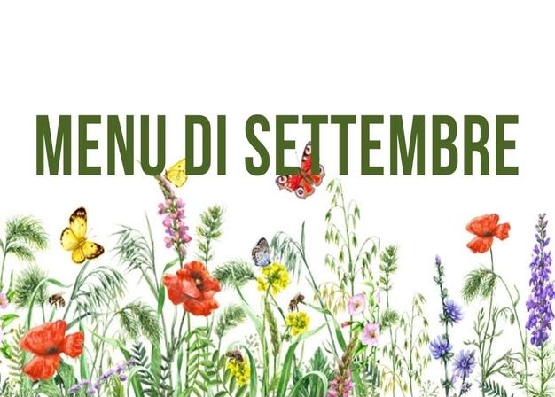 Il menu di settembre all'Agriturismo Vignarello